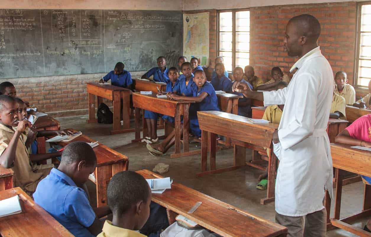 Classroom - Cyangugu, Rwanda