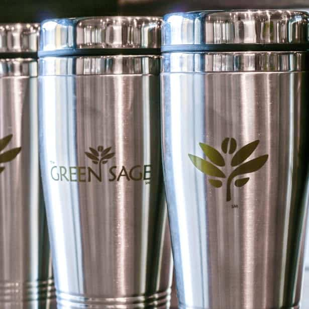 The Green Sage - Branding