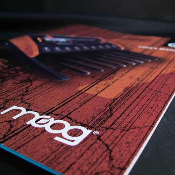 Moog Music - Cover Design